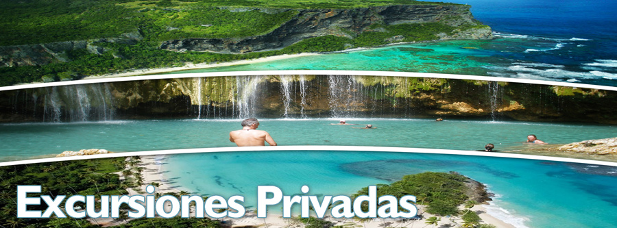 Excursiones privadas desde Las Terrenas, Samana Republica Dominicana. Excursiones privadas a los lugares mas hermosos de la region de Samana : Cascada Salto Del Limon, Playa La Playita en Las Galeras y Playa Rincon en Samana Republica Dominicana.